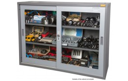 Cabinet Glass Doors Lockable