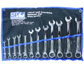 Spanner Set Geardrive SP10262