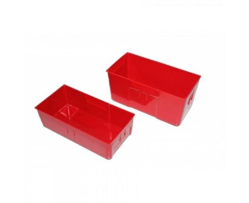 Storage Plastic Bin - 150w x 75d x 45h (Pk5)